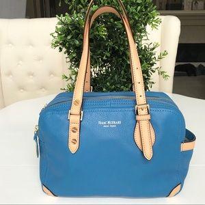 Isaac Mizrahi Blue Handbag